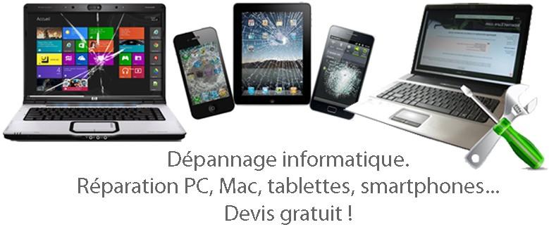 Dépannage informatique - Les Herbiers - Réparation PC, Mac, tablettes et smartphones