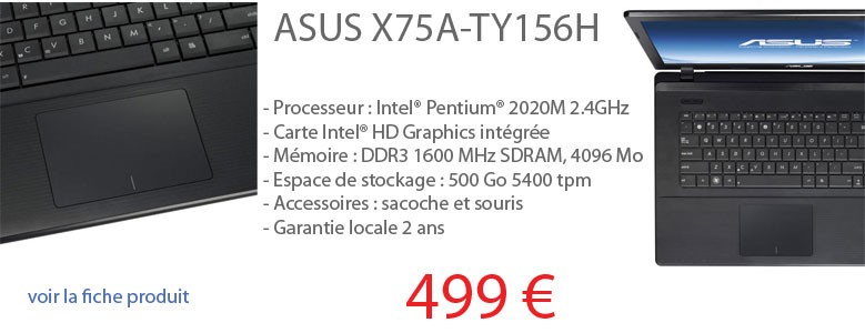 Asus X75A-TY156H